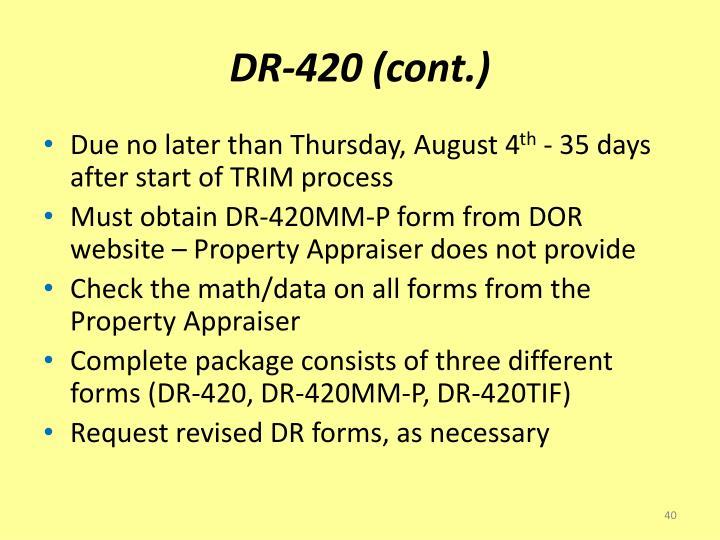 DR-420 (