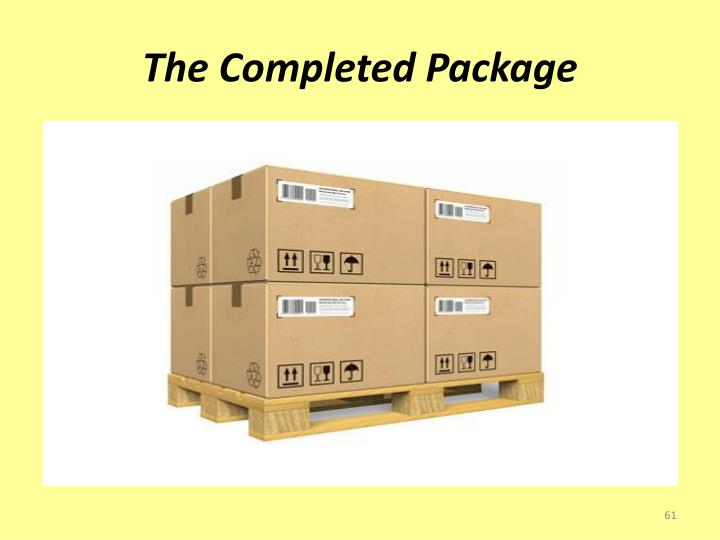 The Completed Package