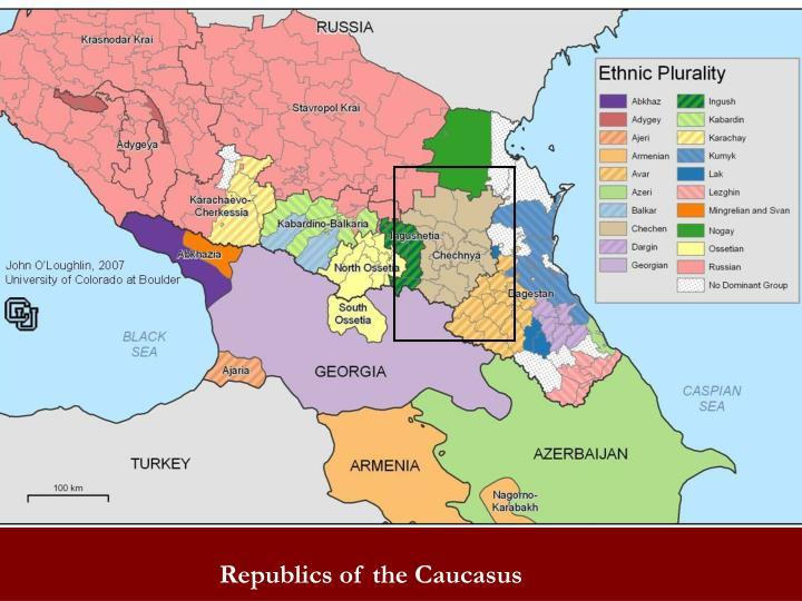 Republics of the Caucasus