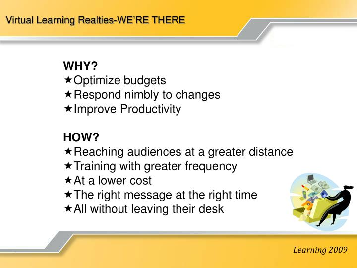 Virtual Learning Realties-WE'RE THERE