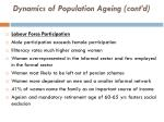 dynamics of population ageing cont d1