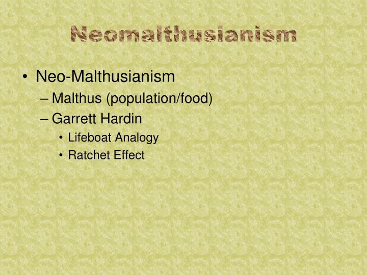 Neomalthusianism