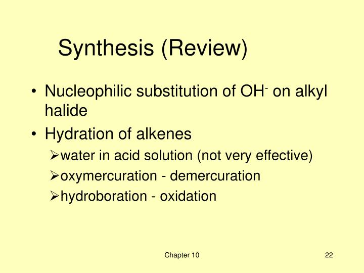 Synthesis (Review)