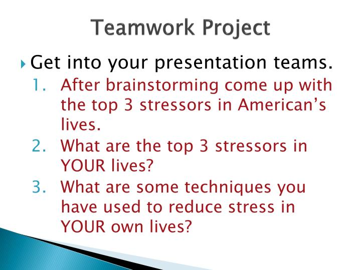 Teamwork Project