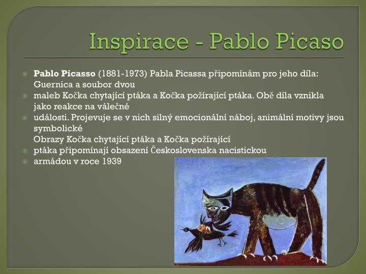 Inspirace - Pablo