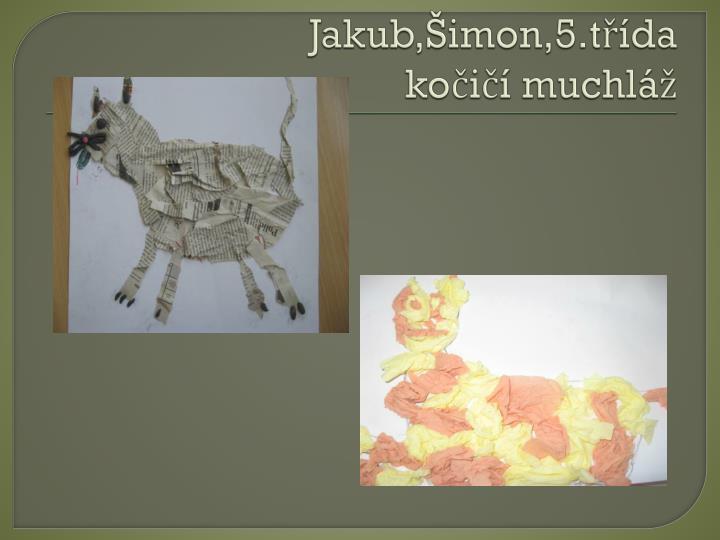 Jakub,Šimon,5.třída