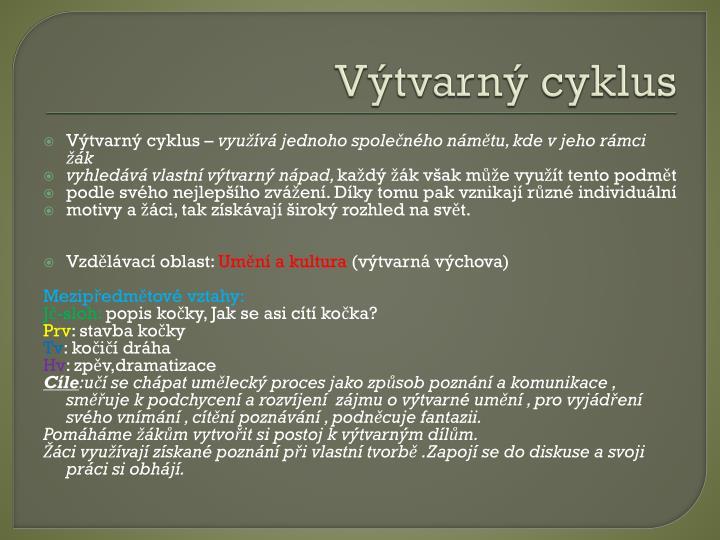 Výtvarný cyklus