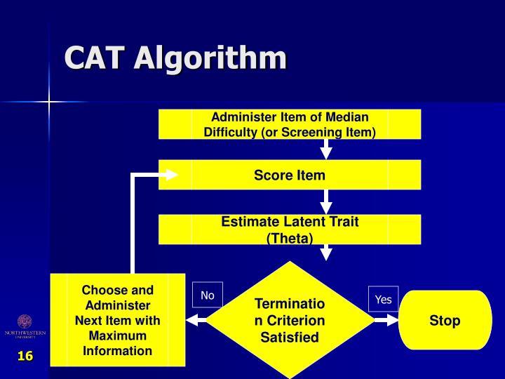 CAT Algorithm