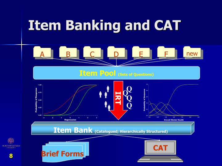 Item Banking and CAT