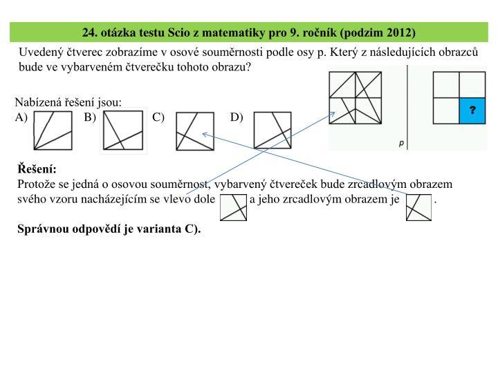 24. otázka testu