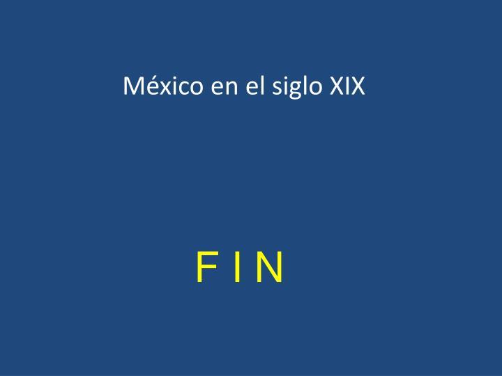 México en el siglo XIX
