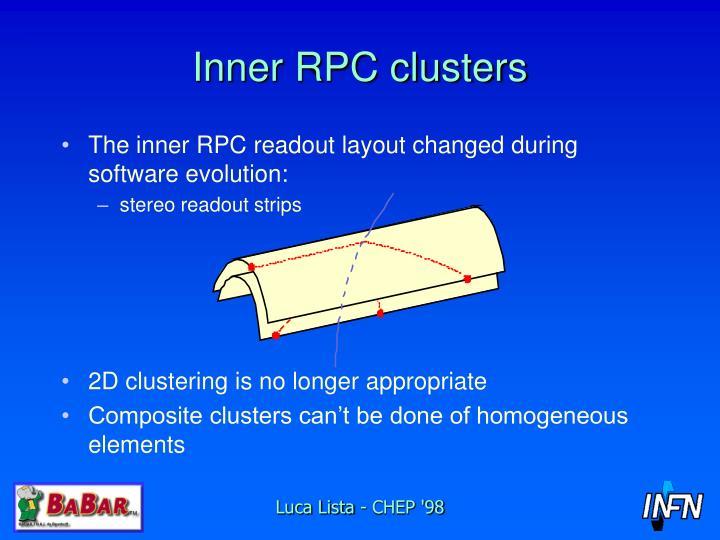 Inner RPC clusters