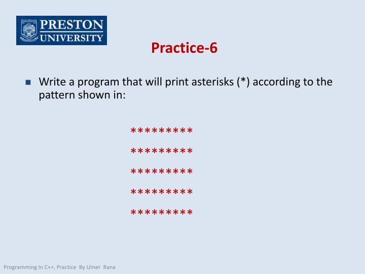 Practice-6