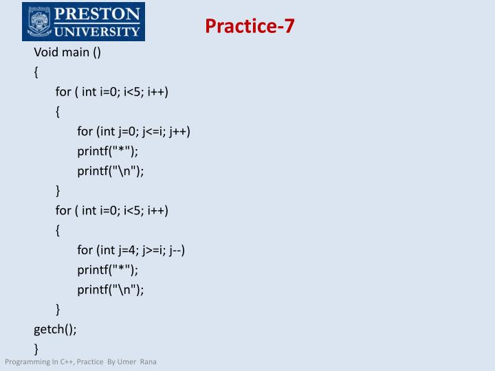 Practice-7