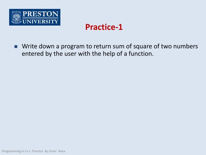 Practice-1