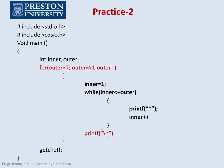 Practice-2