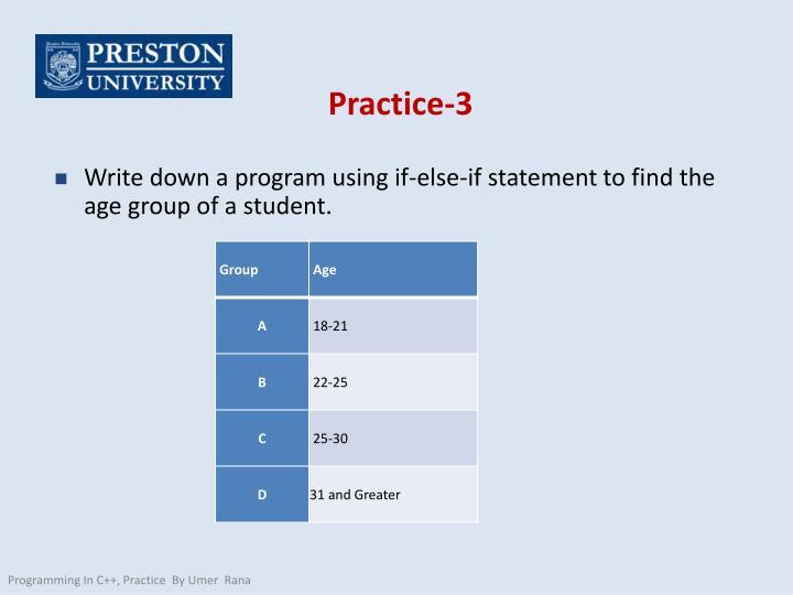 Practice-3