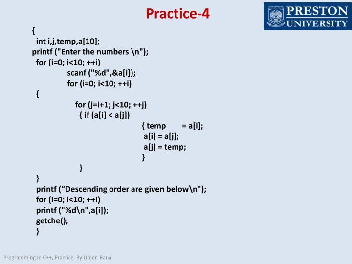 Practice-4
