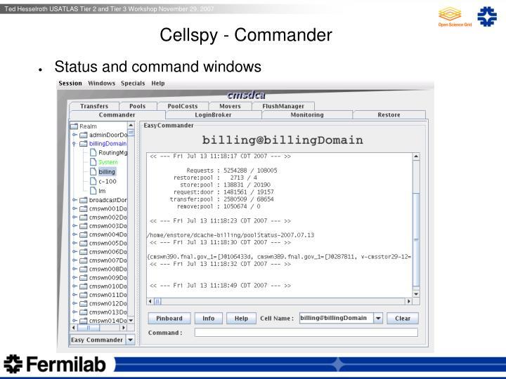 Cellspy - Commander