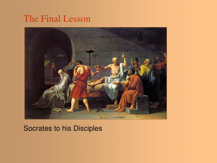 The Final Lesson