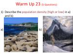 warm up 23 5 questions