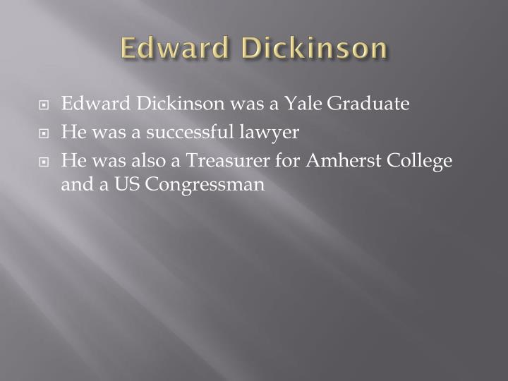 Edward Dickinson