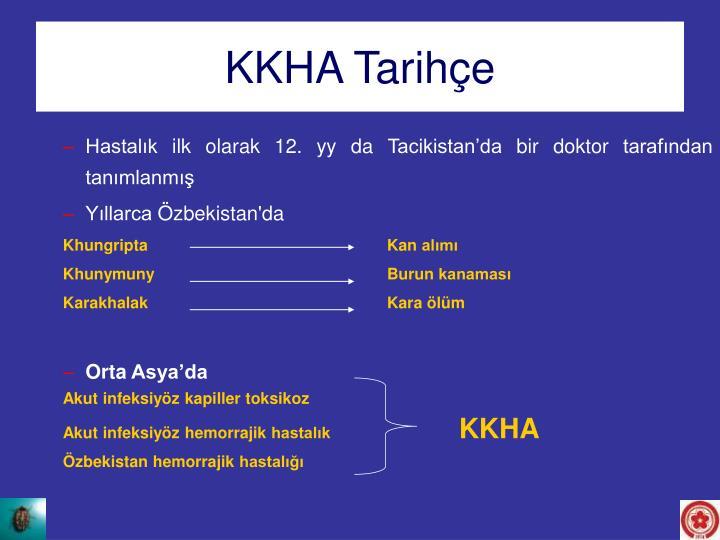 KKHA Tarihçe