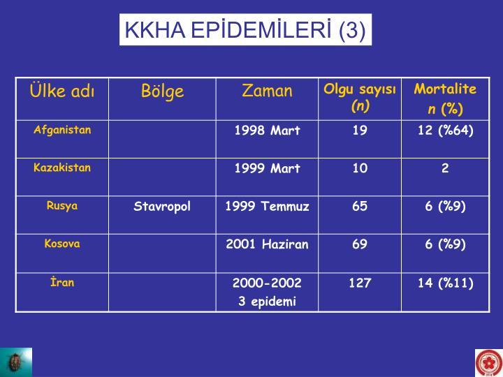 KKHA EPİDEMİLERİ (3)