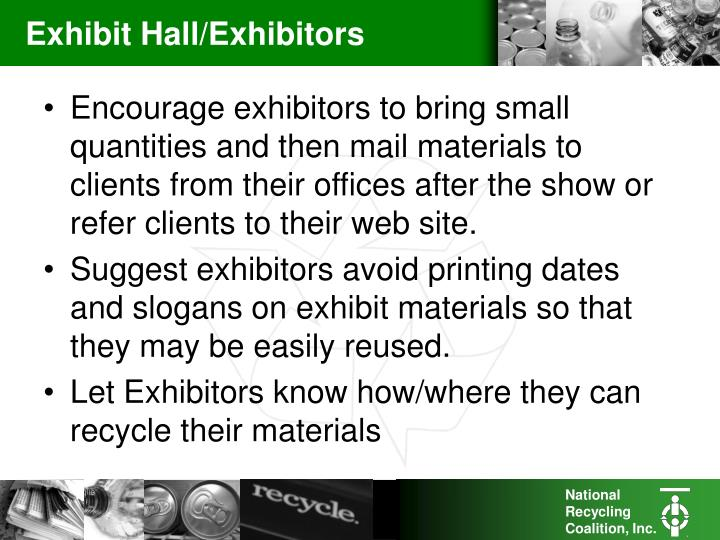 Exhibit Hall/Exhibitors