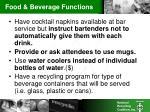 food beverage functions7