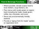 food beverage functions9