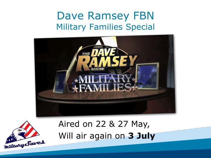 Dave Ramsey FBN