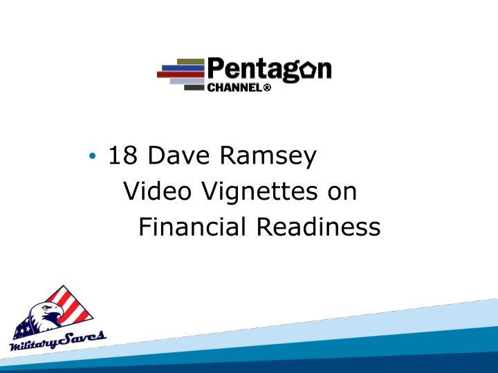18 Dave Ramsey