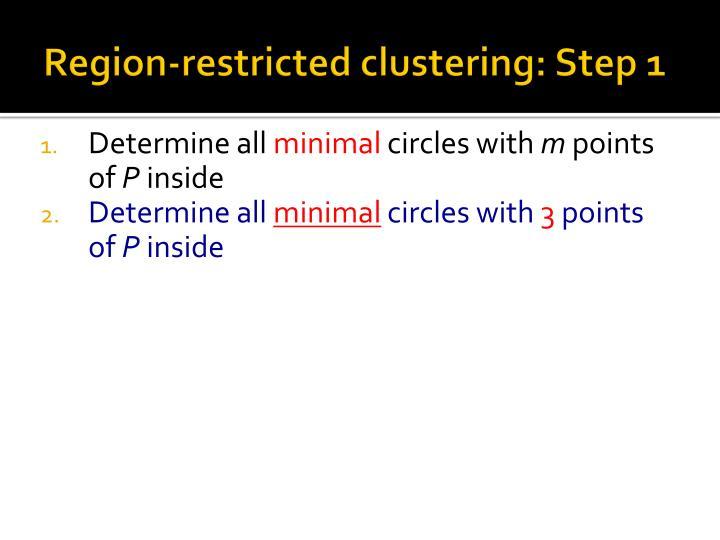 Region-restricted