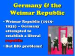 germany the weimar republic