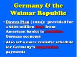 germany the weimar republic1