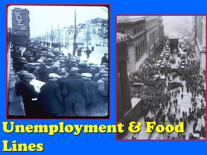 Unemployment &
