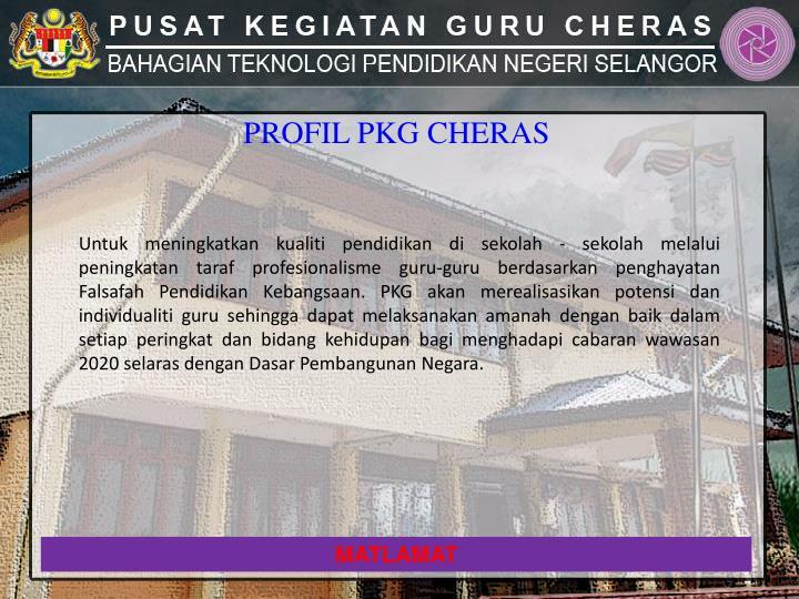 PROFIL PKG CHERAS