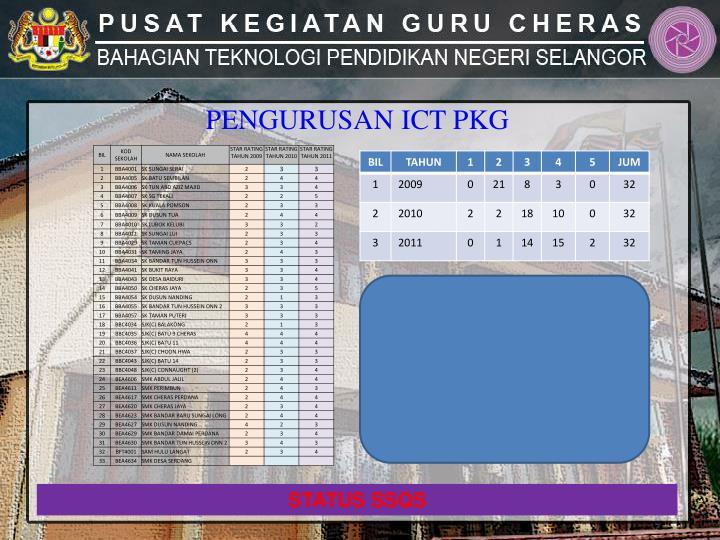 PENGURUSAN ICT PKG