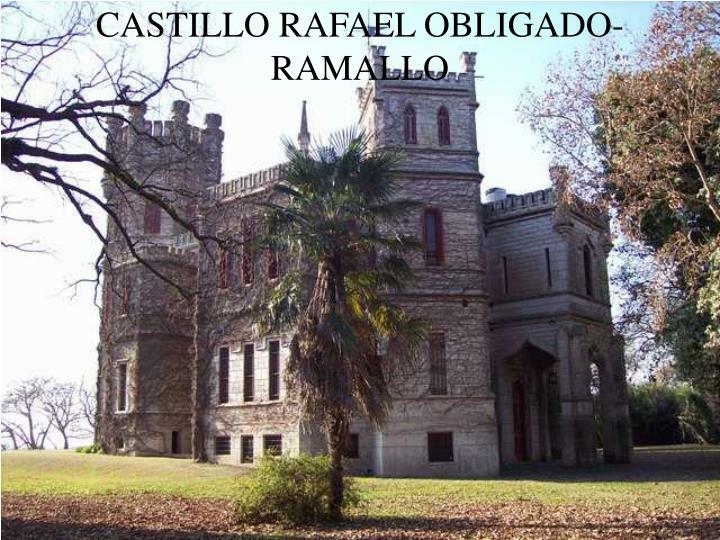 CASTILLO RAFAEL OBLIGADO-RAMALLO