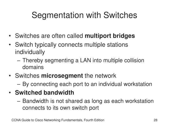 Segmentation with Switches