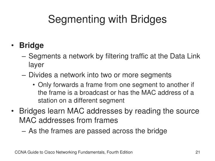 Segmenting with Bridges