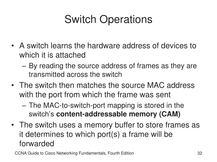 Switch Operations