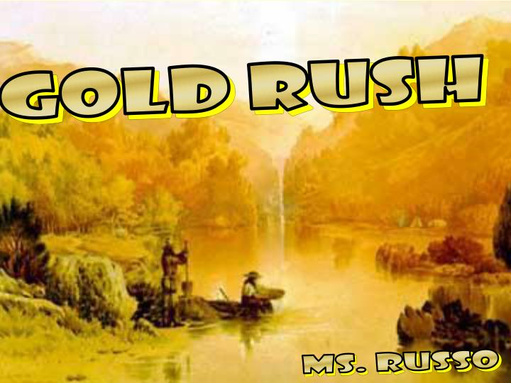 research papers on california gold rush