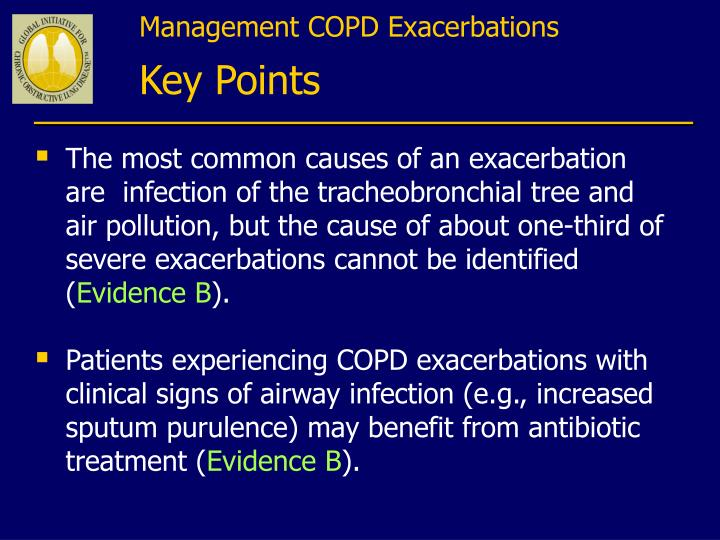 Management COPD Exacerbations