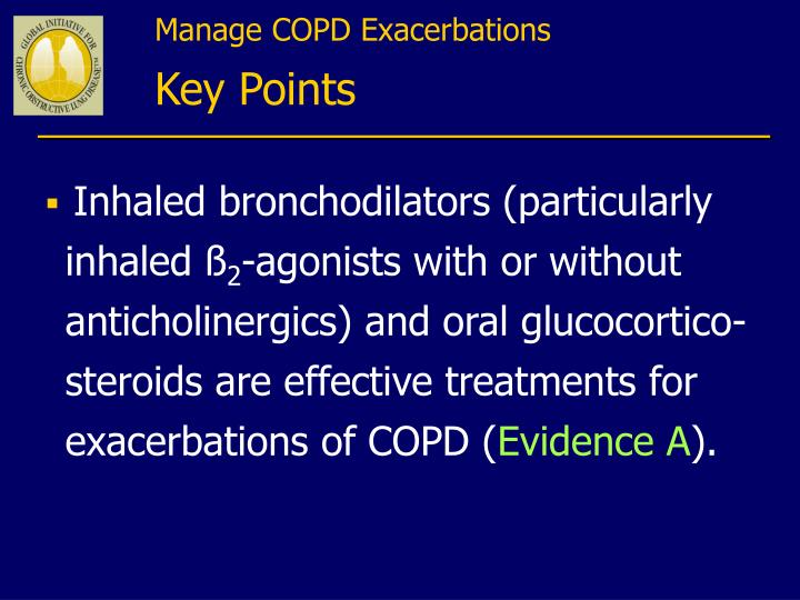 Manage COPD Exacerbations