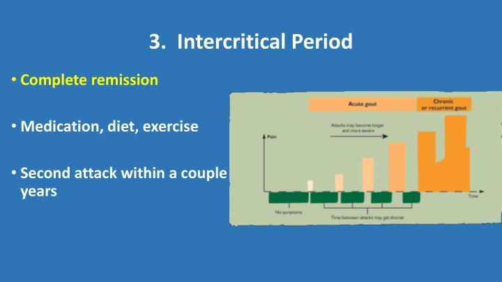 3.  Intercritical Period