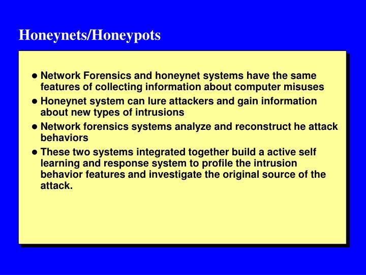 Honeynets/Honeypots
