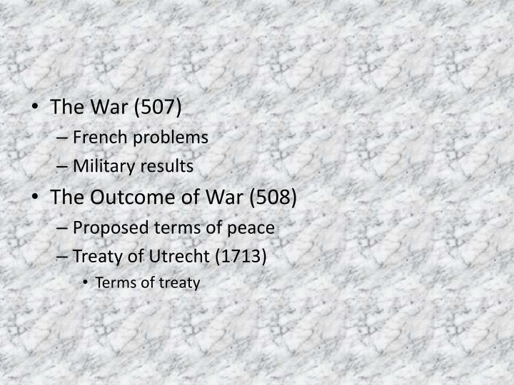 The War (507)