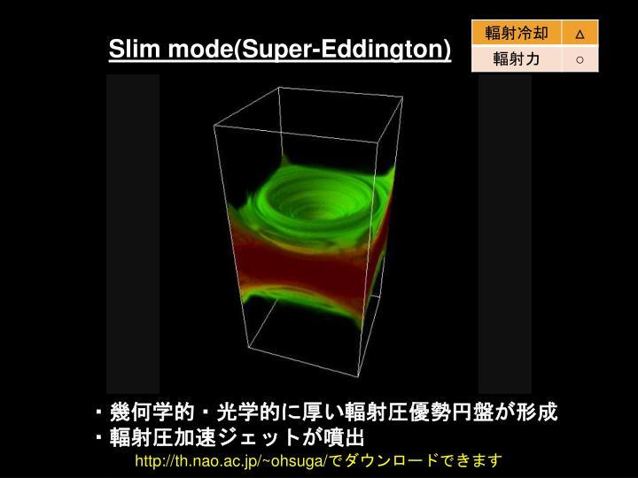 Slim mode(Super-